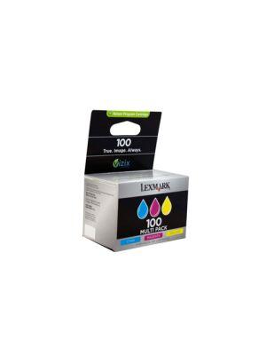 Lexm #100 Colour Ink Tri Pack