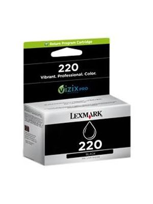 Lexmark #220 Genuine  Black Ink Cartridge - up to 625 pages