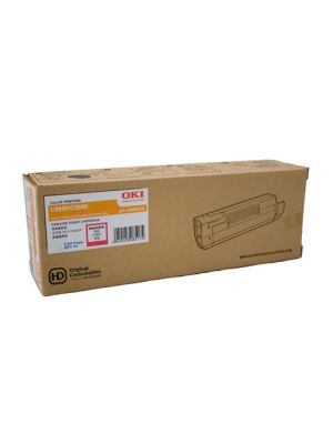Oki 5800/C5900/C5550MFP Genuine Magenta Toner Cartridge (43865726) - 6,000 pages