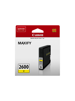 Canon PGI2600Y Genuine Yellow Ink Tank - 700 pages