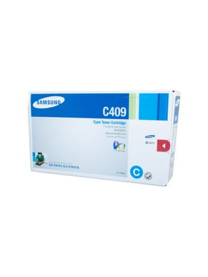 Samsung CLTC409S Genuine Cyan Toner - 1,000 Pages