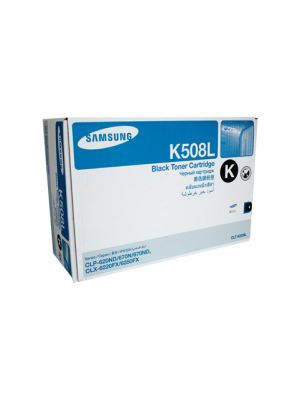 Samsung CLTK508L Genuine Black Toner - 5,000 pages