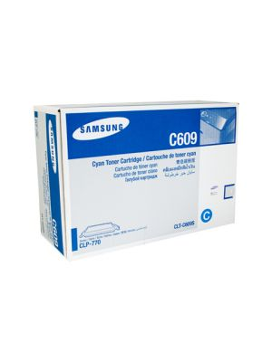 Samsung CLTC609S Genuine Cyan Toner - 7,000 pages