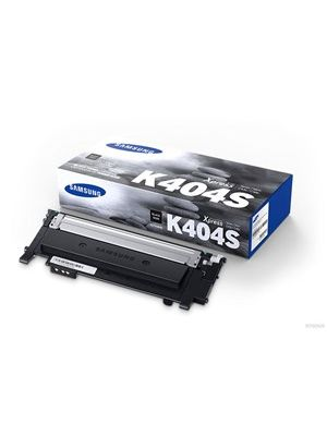 Samsung CLTK404S Genuine Black Toner - 1,500 pages