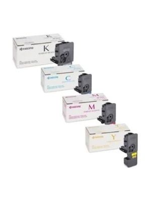Kyocera TK-5244 4 Pack Genuine Toner Cartridge Combo