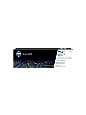 HP #202X Genuine Cyan Toner CF501X - 2,500 pages