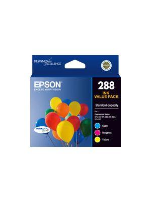 Epson 288 Genuine CMY Colour Pack