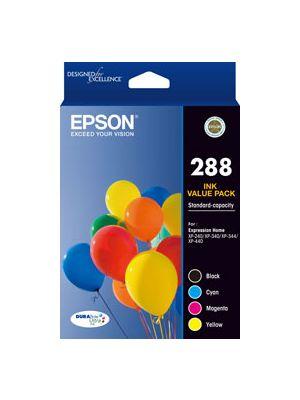 Epson 288 Genuine CMYK Colour Pack