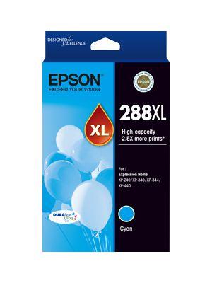 Epson 288 Genuine High Yield Cyan Ink Cartridge