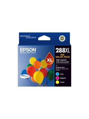 Epson 288 Genuine CMY XL Colour Pack