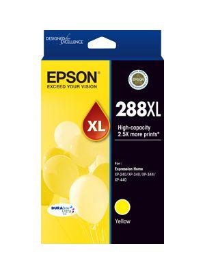 Epson 288 Genuine High Yield Yellow Ink Cartridge