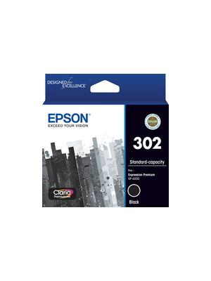 Epson 302 Genuine Black Ink Cartridge