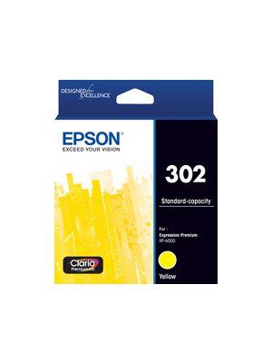 Epson 302 Genuine Yellow Ink Cartridge
