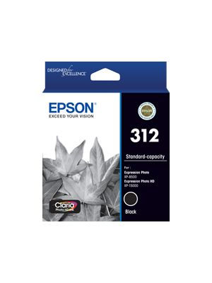 Epson 312 Genuine Black Ink Cartridge