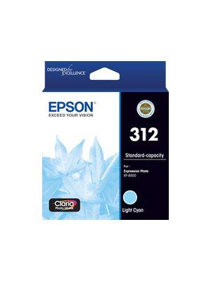 Epson 312 Genuine Light Cyan Ink Cartridge