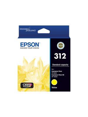 Epson 312 Genuine Yellow Ink Cartridge