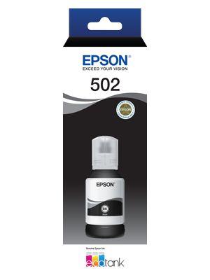 Epson T502 Genuine Black Eco Tank Ink