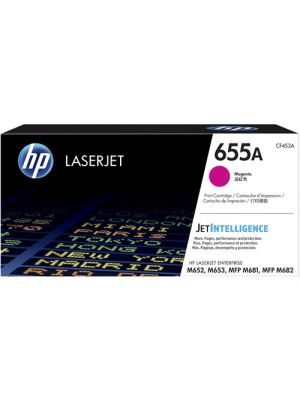 HP #655A Genuine Magenta Toner CF453A - 10,500 pages