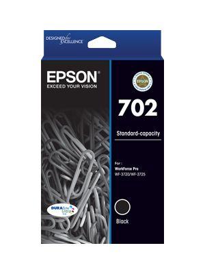 Epson 702 Genuine Black Ink Cartridge