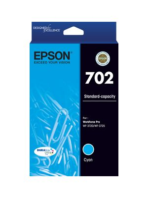 Epson 702 Genuine Cyan Ink Cartridge
