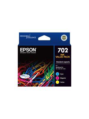 Epson 702 Genuine CMY Ink Pack