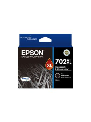 Epson 702 Genuine Black XL Ink Cartridge