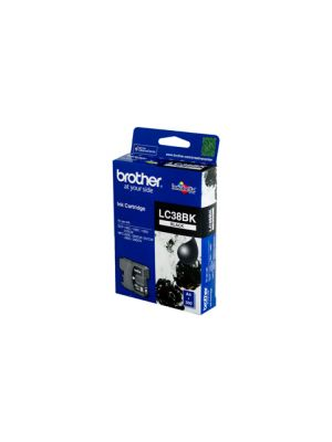 Brother LC38 Genuine Black Ink Cartridge - 300 pages