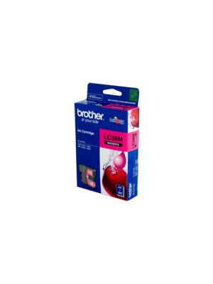 Brother LC38 Genuine Magenta Ink Cartridge - 260 pages