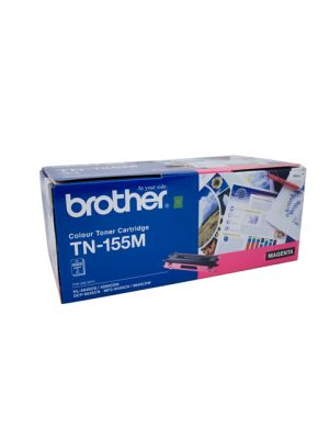 Brother TN155 Genuine Magenta Toner Cartridge - 4,000 pages