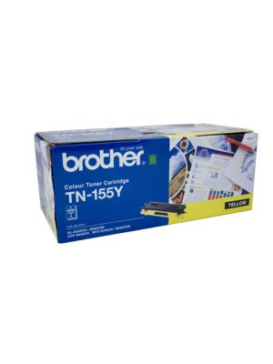 Brother TN155 Genuine Yellow Toner Cartridge - 4,000 pages