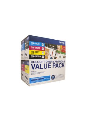 Brother TN240 Genuine Colour 4 Pack - refer to singles