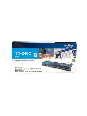 Brother TN240 Genuine Cyan Toner Cartridge - 1,400 pages