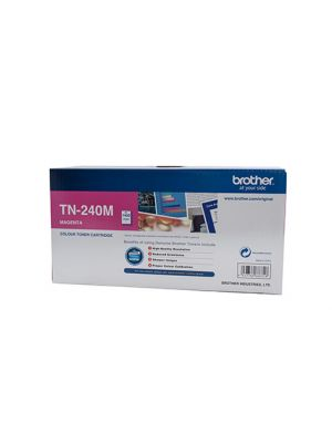 Brother TN240 Genuine Magenta Toner Cartridge - 1,400 pages