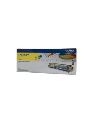 Brother TN251 Genuine Yellow Toner Cartridge - 1,400 pages