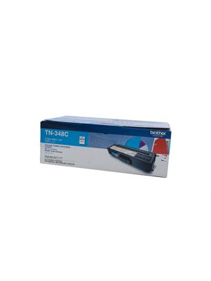 Brother TN348 Genuine Cyan Toner Cartridge - 6,000 pages