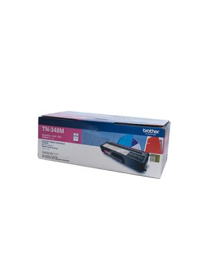 Brother TN348 Genuine Magenta Toner Cartridge - 6,000 pages