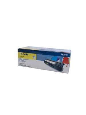 Brother TN348 Genuine Yellow Toner Cartridge - 6,000 pages
