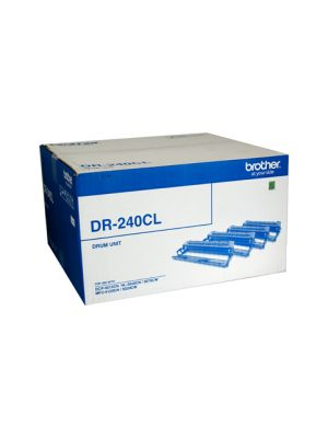Brother DR240CL Genuine Drum Unit - 15,000 pages