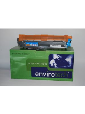 Eco-Friendly Envirotech, Brother TN255 Cyan Cartridge (Australian Made)