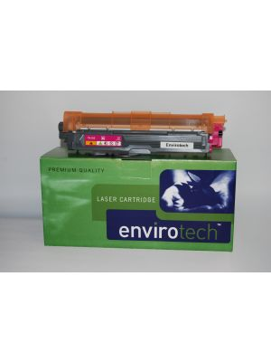 Eco-Friendly Envirotech, Brother TN255 Magenta Cartridge (Australian Made)