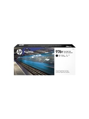 HP #976Y Genuine Black Ink L0R08A - up to 17,000 pages