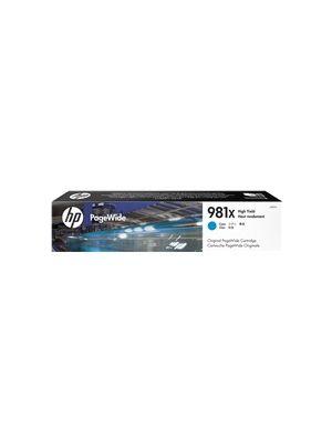 HP #981X Genuine Cyan Ink Cartridge L0R09A - 10,000 pages