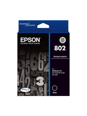 Epson 802 Genuine Black Ink Cartridge