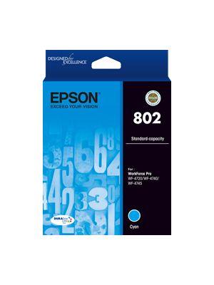 Epson 802 Genuine Cyan Ink Cartridge
