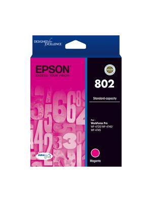 Epson 802 Genuine Magenta Ink Cartridge