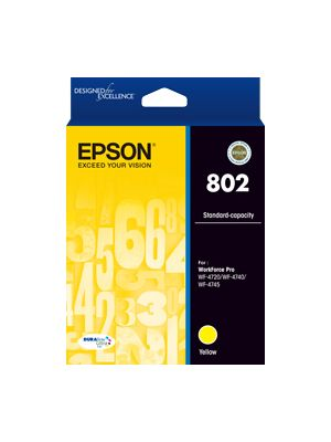 Epson 802 Genuine Yellow Ink Cartridge