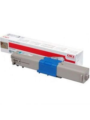 Oki C301/C321/MC342dnw Genuine Cyan Toner Cartridge 1,500 pages ( 44973547)