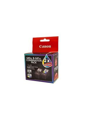 Canon PG640 CL641 XL Genuine Twin Pack