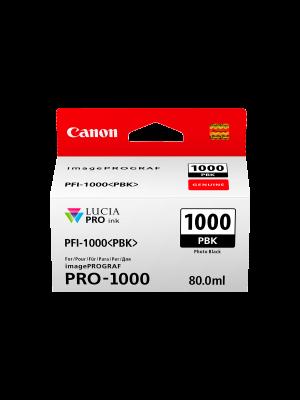 Canon PFI1000 Genuine Photo Black Ink Cartridge