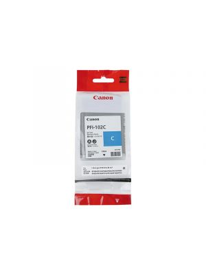 Canon PFI102 Genuine Cyan Ink